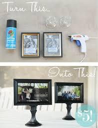 Michaels Art Desk Instructions by 25 Unique Picture Frame Crafts Ideas On Pinterest Diy Projects