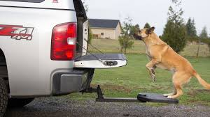 Twistep - Truck Or SUV Hitch Step For Dogs | DudeIWantThat.com