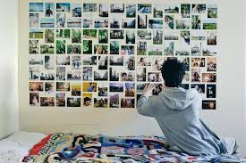 Personal Photo Collage Wallpaper Wall Murals Custom Removable