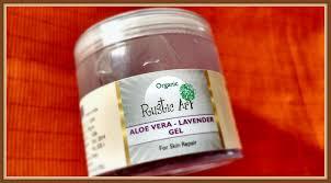Rustic Art Aloe Vera Lavender Gel