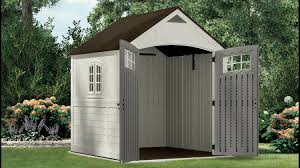 Rubbermaid 7x7 Storage Shed Home Depot by Good 7x7 Storage Shed 25 In Rubbermaid Large Storage Shed 5l30