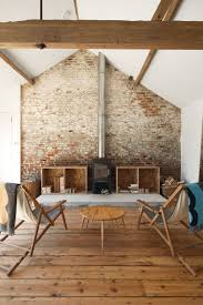 100 Brick Walls In Homes Renovated Barn In England With Oak Floors And Exposed Brick Wall And