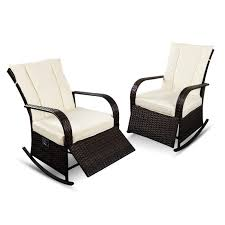 Amazon.com: Recliner Rocking Chair Patio Auto Adjustable Rattan ... Hampton Bay Spring Haven Brown Allweather Wicker Outdoor Patio Noble House Amaya Dark Swivel Lounge Chair With Outsunny Rattan Rocking Recliner Tortuga Portside Plantation Wickercom Wilson Fisher Resin Recling Ideas Fniture Unique Clearance 1103design Chairs S Rocker High Indoor Lounger Alcott Hill Yara Cushions In 2019 Longboat Key At Home Buy Cheap Online Sale Aus