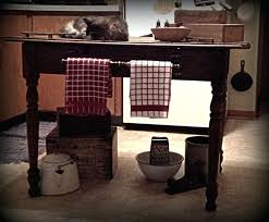Primitive Kitchen Decorating Ideas by Primitive Kitchen Decor Curtains In Manufactured Home Country