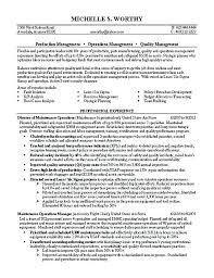 Security Manager Resume Quality Example Cover Letter