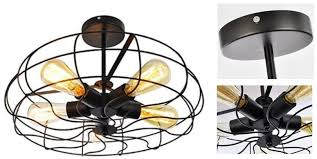 choose best ceiling fans for kitchen air circulating lighting