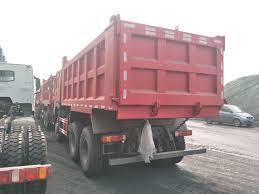 100 Pink Dump Truck Cina 17cbm HOWO 336HP 10 Wheeler Untuk Ethiopia Produsen