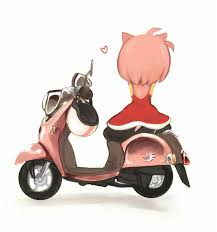 Sonic Chaos Adventure Tails Amy Rose Knuckles The Echidna Shadow Hedgehog Motor Vehicle Scooter