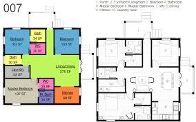 30x30 2 Bedroom Floor Plans by 30 X 30 Vastu Home 007