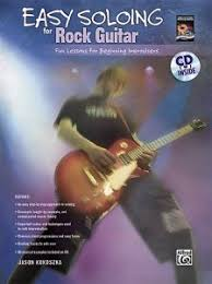Easy Soloing For Rock Guitar Fun Lessons Beginning Improvisers Book CD National Workshop