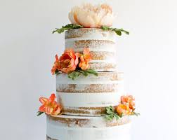 Naked Cake Fake Prop Party Decor