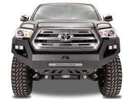 100 Toyota Truck Parts Fab Fours Vengeance Front Bumper WNo Guard 2016 Tacoma