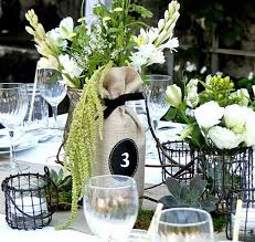 35 Awesome Wine Bottle Centerpieces For Any Table 2017