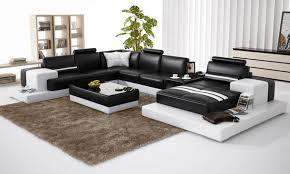 canapé cuir en u canape d angle 8 places 7 canape angle achat vente canap233 en