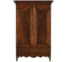 Henredon Walnut China Cabinet by Cabinets Desks Consoles Game Tables Henredon Furniture