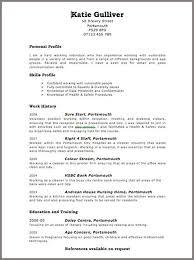 Free Resume Templates Uk Freeresumetemplates