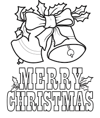 Christmas Bells Coloring Page 5 Printable