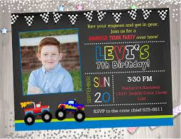 Monster Jam Birthday Invitations Luxury Monster Truck Birthday Party ... Birthday Monster Truck Invitations Free Templates Grave Printable Party Fresh 9 Best Trucks Blaze And The Machines Trend Jam 3d Birthdayexpress Com 3 Year Old Cstruction With Printables Vip Guest Pass Printable Insert Instant Outstanding Images Inspirational E Three Awesome