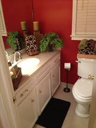 Teal Brown Bathroom Decor by Green And Brown Bathroom Decor The Color Scheme Is Red Gold
