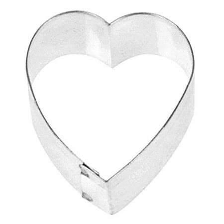 "Fox Run Mini Heart Cookie Cutter - 1"", Stainless Steel"