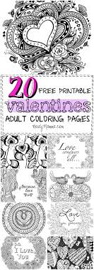 These 20 Valentines Free Printable Adult Coloring Pages Are So Awesome I Love And