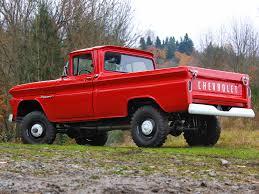 1960 Chevrolet Apache 10 Fleetside Pickup Truck (K14) 4x4 Classic F ...