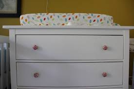 Hemnes 3 Drawer Dresser As Changing Table by August 2011 C A T H I E H O N G