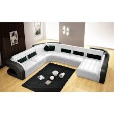 canapé d angle 7 places cuir canapé d angle panoramique en cuir poltroni 7 places pop design fr