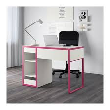 Micke Desk With Integrated Storage White Pink by Micke Desk White Ikea