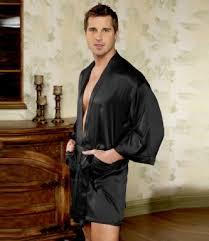 robe de chambre satin homme kimono en satin de soie magic silk insilk soie