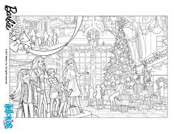 Barbies Christmas Tree Coloring Pages