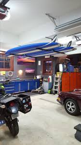 Kayak Ceiling Hoist Nz by 44 Best Garage Board Storage And Racks Images On Pinterest