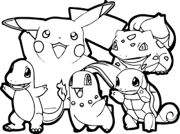 Pokemon Coloring Book Walmart For Adults Draw All Pages On Bookmarks Full Size