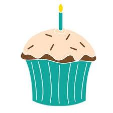 Birthday Cupcake Free Clip Art
