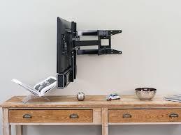 support tv mural universel meubles support tv mecer kb032 2 tvm003 support mural tv