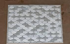 tile backsplash layout homebuilding