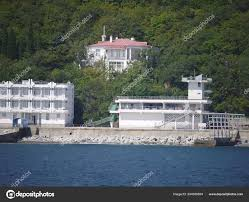 100 Beautiful White Houses White Houses Among Green Trees Facing The Sea And