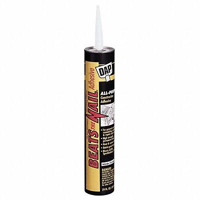 Dap Beats the Nail All-Purpose Construction Adhesive - 10.3 Oz
