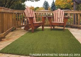 NATCO TUNDRA Fresh Cut Artificial Turf Grass Rug