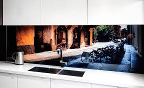 VRArtGlass Printed Glass Splashback Italy Photographic Art