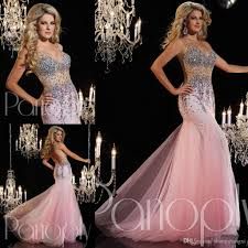 2015 sale pink mermaid teen pageant dresses v neck sleeveless