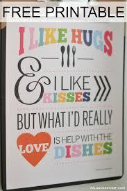 The Kitchen A Printable QuotesKitchen ArtKitchen