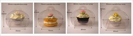 Cupcake Wrap Boxes Sizes Image