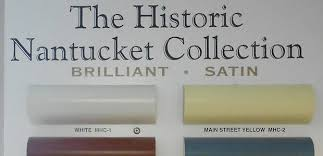 How Did Nantucket MA Choose Their Historic Colors
