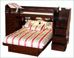 great full over queen bunk bed with stairs with best 25 queen bunk