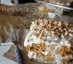 Pumpkin And Cake Mix Dessert by Pumpkin Spice Crunch Cake Oh Bite It