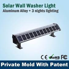 china top quality solar powered wall lights rgb wall washer l