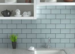 Light Blue Ceramic Subway Tile by 36 Light Blue Ceramic Subway Tile Blue Subway Coastal Shower Tile
