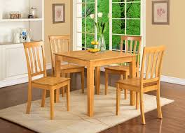 Walmart Round Kitchen Table Sets by Bedroom Winsome Dinette Dining Set Table Wood Seat Chairs Oak