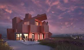 104 Building House Out Of Shipping Containers David Mach Designs Sculptural Made From 30
